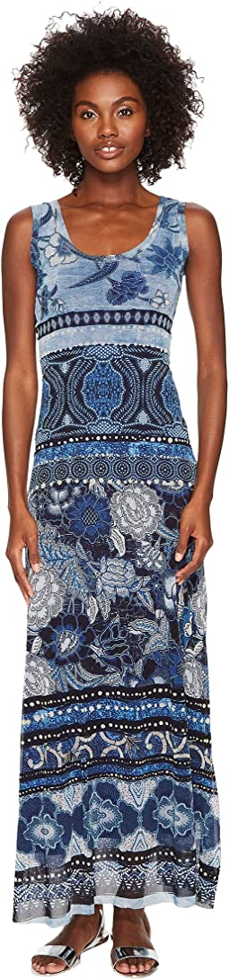 FUZZI - Tank Dress Batik Print