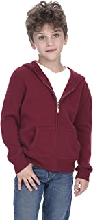 State Cashmere Kids Unisex Wool Cashmere Full-Zip Hoodie Boy's/Girl's Sweater