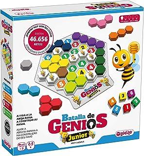 Lúdilo Batalla de genios Jr, Rompecabezas, Mesa Educativo, Puzzles para niños con Piezas de Madera, Juegos Tablero, Potenc...
