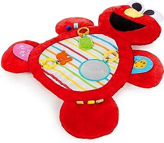Bright Starts Sesame Street Tummy-Time Elmo Prop Mat, Ages 0-12 Months