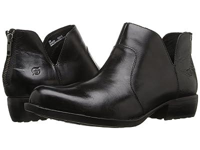 Born Kerri (Black Full Grain Leather) Women