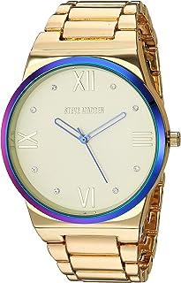 Steve Madden SMW232 - Reloj de pulsera para mujer con diamantes de imitación