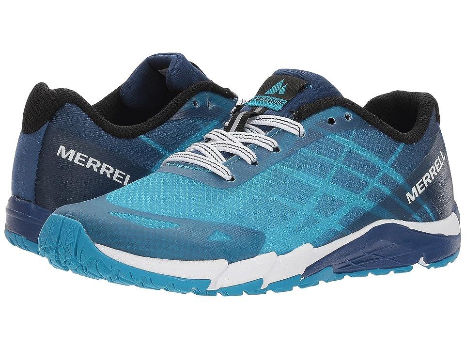 Merrell Kids Bare Access (Little Kid) (Blue) Boys Shoes