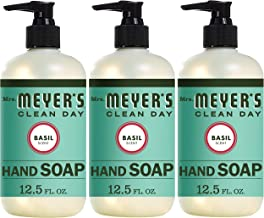 Mrs. Meyer´s Clean Day Hand Soap, Basil, 12.5 fl oz, 3 ct