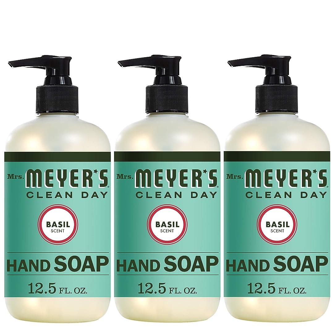同意する聡明スモッグLiquid Hand Soap - Basil - Case of 6-12.5 oz by Mrs. Meyer's