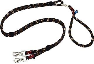 ドッグ・ギア ザイルリードタイプW ロープ径10mm 全長80cm ブラック 「大切な愛犬を迷子犬にしないためのリードです」