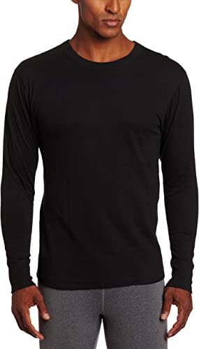 Duofold By Champion Thermals hommes Long-Sleeve Base-Layer Shirt Thermals noir L