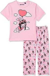 Hoppipola Baby Girl's SIMG S20 GIG009 Pyjama Set