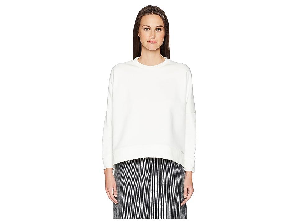 Neil Barrett Asymmetric Sweatshirt (Off-White) Women
