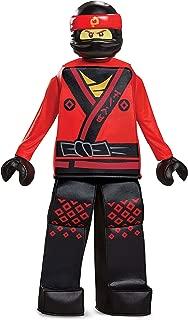 Disguise Kai Lego Ninjago Movie Prestige Costume, Red, Small (4-6)
