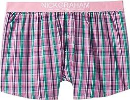 Plaid Check Boxer Shorts
