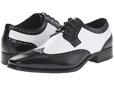 Stacy Adams Melville (Black/White) Men