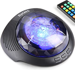 Night Light Projector Sound Machine - Star Projector, Colorful Nightlight, White Noise Machine, Bluetooth Speaker with Remote for Baby, Kids, Adult in Nursery, Kids Room, Bedroom, Living Room