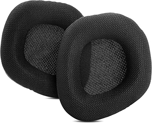 popular Ear Pads Ear Cushions Replacement Compatible with online sale Corsair Void RGB outlet online sale PRO 7.1 Headset Earpads Covers Foam Headphone Black online