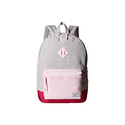 Herschel Supply Co. Kids Heritage XL (Youth) (Light Grey Crosshatch/Very Berry Crosshatch/Pink Lady Crosshatch) Backpack Bags