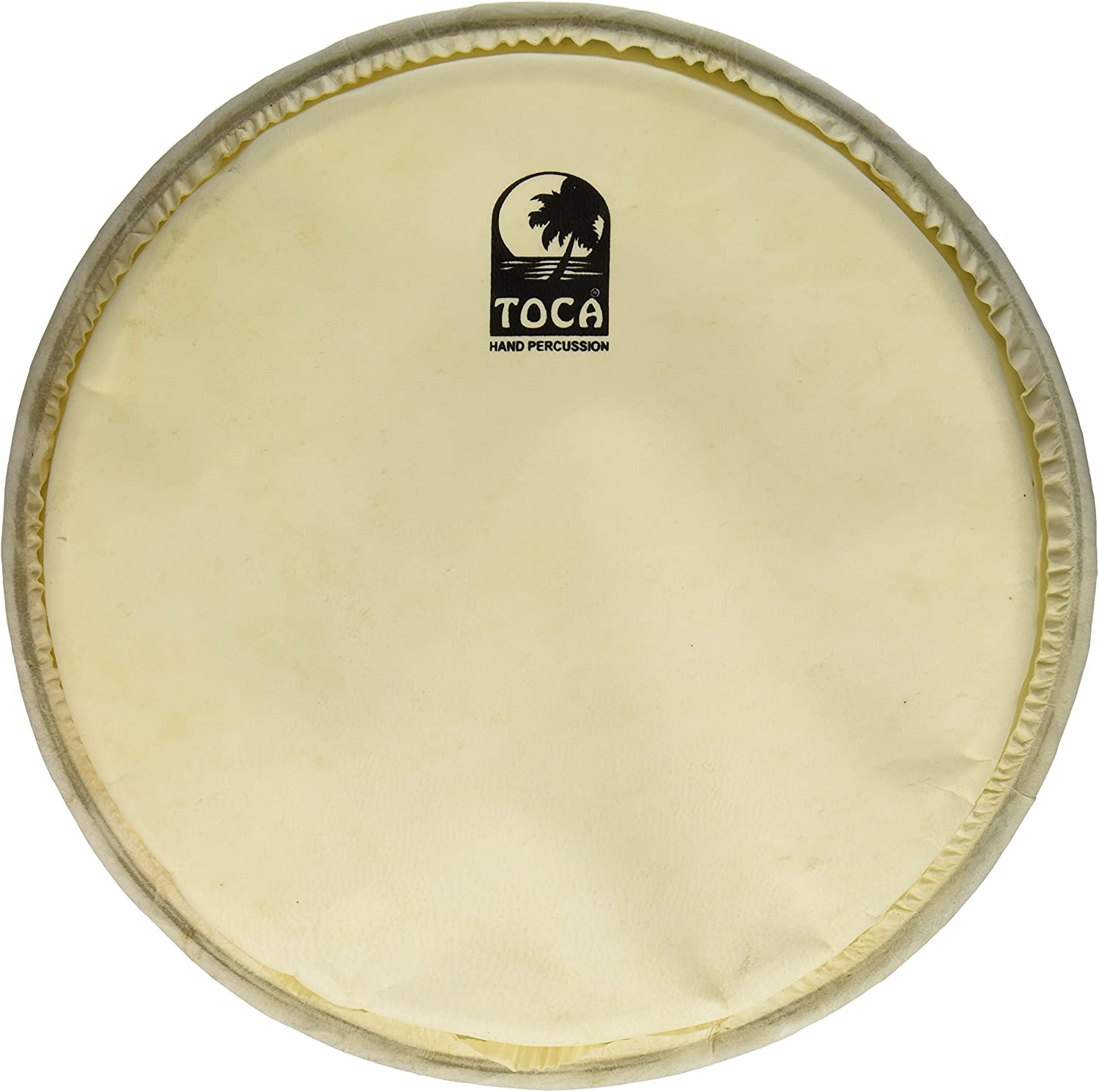 Toca TP-FHM12 Department store 12-Inch Goat Max 72% OFF Skin Tuned Mechanically for Head Djem