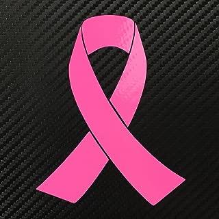 Breast Cancer Ribbon Pink Decal Sticker Custom Die-cut Vinyl