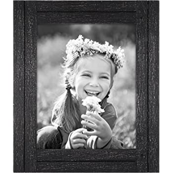 Dacasso Black Leather Photo Frame 8 by 10-Inch A1036