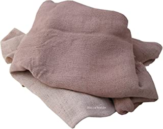 Manta decorativa, regalo especial,colección Linos, cañamo,yute, manta de sofá de tejido natural, BeccaTextile.