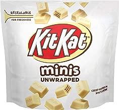 KIT KAT White Creme Candy Bars, Minis, 7.6 oz Pouch