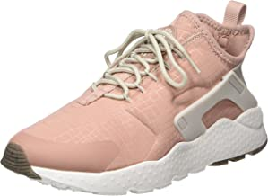 Nike Women's W Air Huarache Run Ultra Gymnastics Shoes, (Particle Pink/Light Bone/Summit White), 5.5 UK