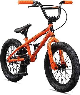"""Mongoose Legion L16 16"""" - Bicicleta de Estilo última intervensión para niño, Color Naranja"""