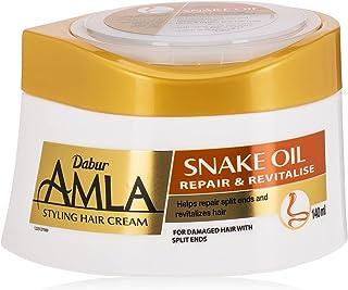 Dabur Amla Snake Oil Hair Cream, 140 ml