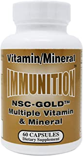 NSC Gold Multiple Vitamin & Minerals 60 Capsules