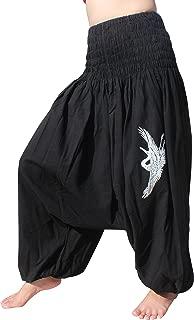 RaanPahMuang 浅棉阿拉伯马 长裤宽罩衫亚洲吊带鸟