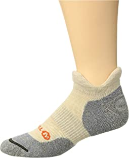Dual Tab Trail Runner Sock