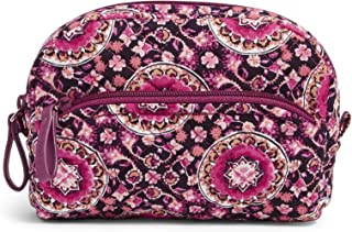 Vera Bradley Women's Signature Cotton Mini Cosmetic Makeup Organizer Bag
