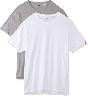 Levi's Men's Slim 2 Pack Crew Tee Two-Pack Tee T-Shirts