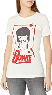 Goodie Two Sleeves Juniors' Bowie Graphic T-Shirt