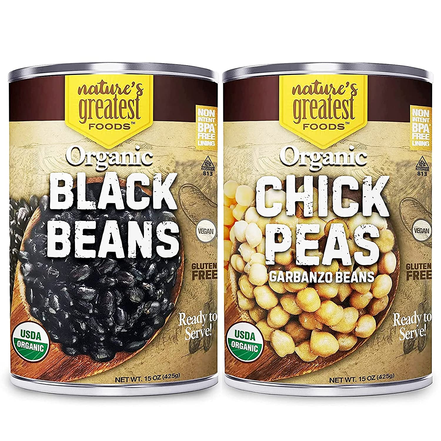 Organic Black Beans Free shipping anywhere in the nation and Purchase Chickpeas Greatest Fo Bundle Nature's by
