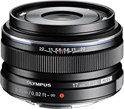 Olympus M.Zuiko 17mm f1.8 (Black) for Olympus and Panasonic Micro 4/3 Cameras (Renewed)