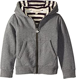 Appaman Kids - Super Soft Striped Lined Downtown Hoodie (Toddler/Little Kids/Big Kids)