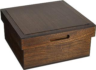 ランチャン(Ranchant) 箱膳 マルチ 24.5x24.5x12cm 木製 日本製