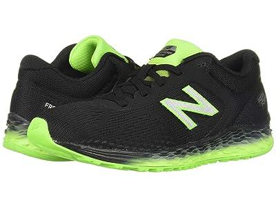 New Balance Kids Arishi v2 (Little Kid/Big Kid) (Black/RGB Green) Boys Shoes