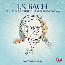 J.S. Bach: Brandenburg Concerto No. 3 in G Major, BWV 1048 (Digitally Remastered)