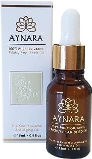 Aynara Pure Prickly Pear Seed Oil | Moroccan 100% Organic Best Anti-Aging Oil