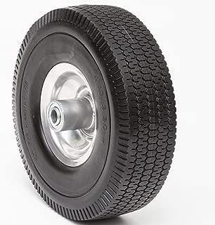 Lapp Wheels 4.10/3.50-4 Flat Free Tire,Hand Truck, Utility cart Replacement Wheel, tubeless, Size 2-1/4'' Offset hub, 5/8'' Bearing