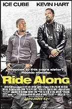 RIDE ALONG (2014) Original Authentic Movie Poster 27x40 - Dbl-Sided - Ice Cube - Kevin Hart - John Leguizamo - Tika Sumpter