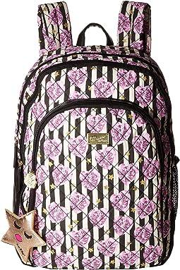 Dan Cotton Triple Compartment Backpack