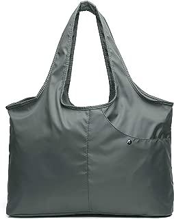 Shoulder Bag for Women, Waterproof Shopping Lightweight Work Purse and Handbag Diaper Tote Oxford Nylon Large Travel Hobo
