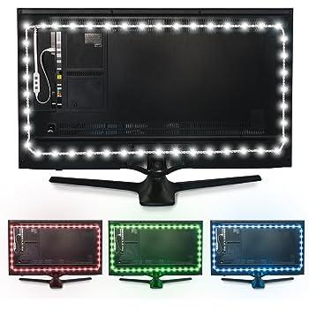 Luz de fondo en color Luminoodle para TV - Mando a distancia ...