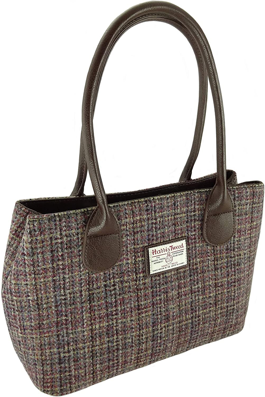 Harris Tweed Ladies 売り込み 輸入 Authentic Classic COL25 LB1003 Handbags