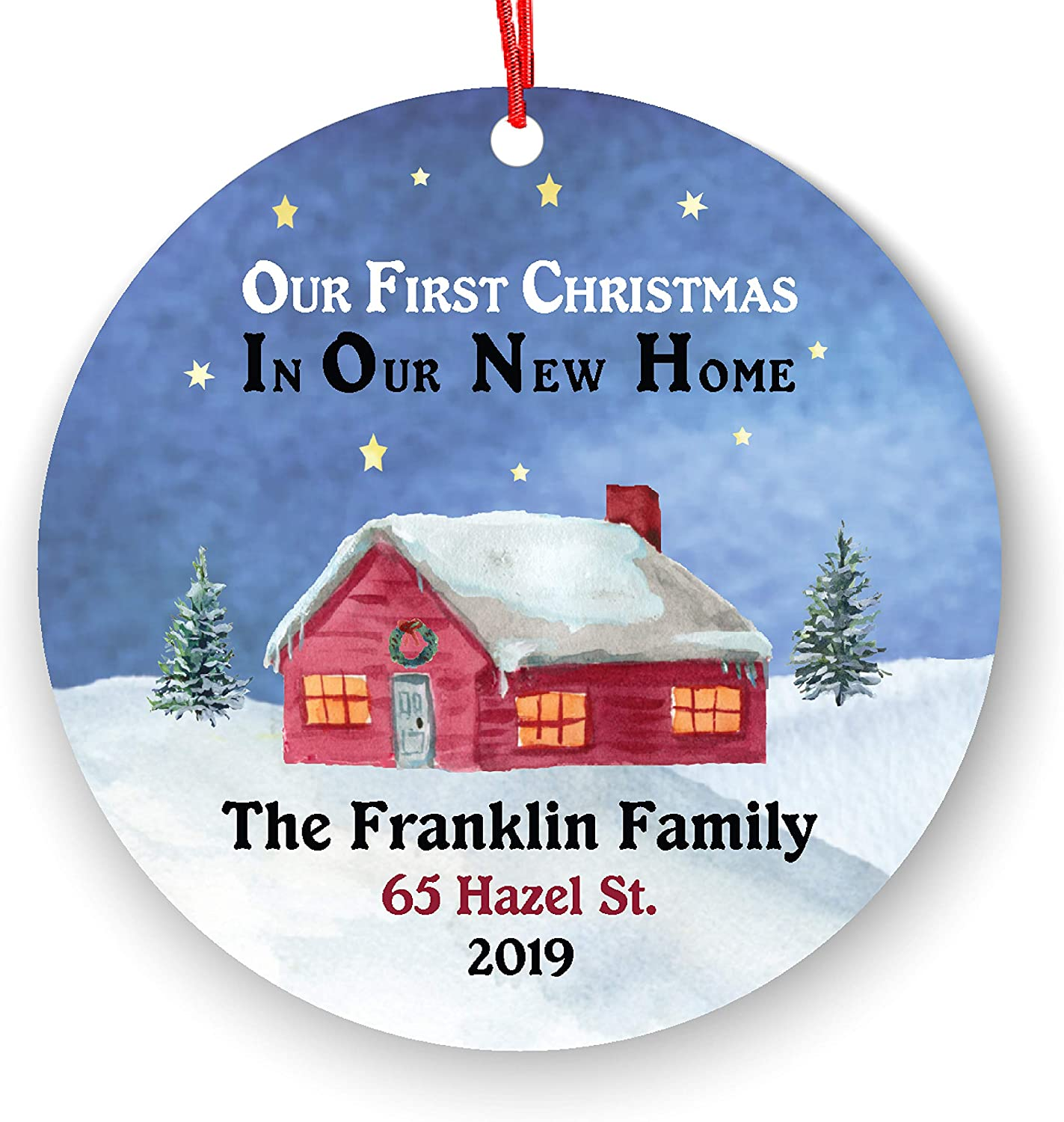 Personalized First Christmas Ranking integrated 1st place in Our Home New Ornament Housewarmi Philadelphia Mall