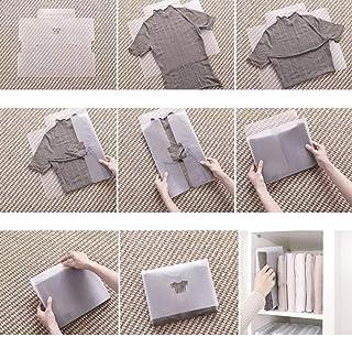 5 pcs Folding clothes organizer board منظم الملابس والتيشرت والقمصان