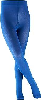 FALKE Strumpfhose Cotton Touch Baumwolle Kinder schwarz weiß viele weitere Farben verstärkte Kinderstrumpfhose ohne Muster blickdicht Baumwollstrumpfhose einfarbig und dünn 1 Stück
