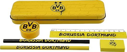 Borussia Dortmund Set d/écriture avec bo/îte en m/étal